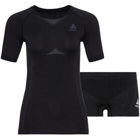 Odlo Performance Evolution Light Underwear Set Women, black/graphite grey